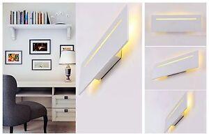 Applique da parete a led w arredo moderno luce calda e riflessa