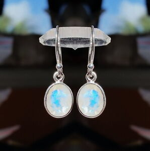 315C-Rainbow-Moonstone-Solid-925-Sterling-Silver-faceted-gemstone-earring-rrp-50