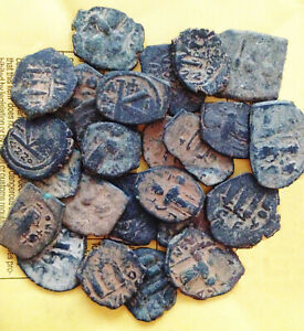 Ungraded-and-Uncleaned-LARGER-desert-Byzantine-Roman-Coins-PER-Coin-buying