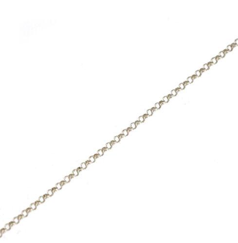 1 Meter Silberkette Meterware Erbskette Ø 1,8 mm 925 Silber