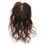 Wavy-Curly-100-Human-Hair-Topper-Hairpiece-Toupee-Top-Piece-For-Women thumbnail 8