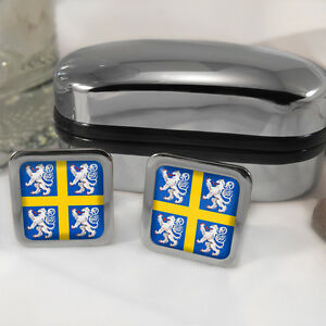 Durham-Coat-of-Arms-Cufflinks-amp-Box