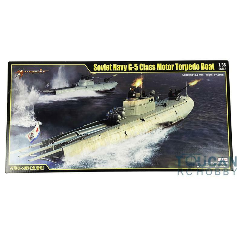 Trumpeter 63503 Soviet Navy G-5 Class Motor Torpedo Boat 1 1 1 35 Scale Model Ship 5d8c0f