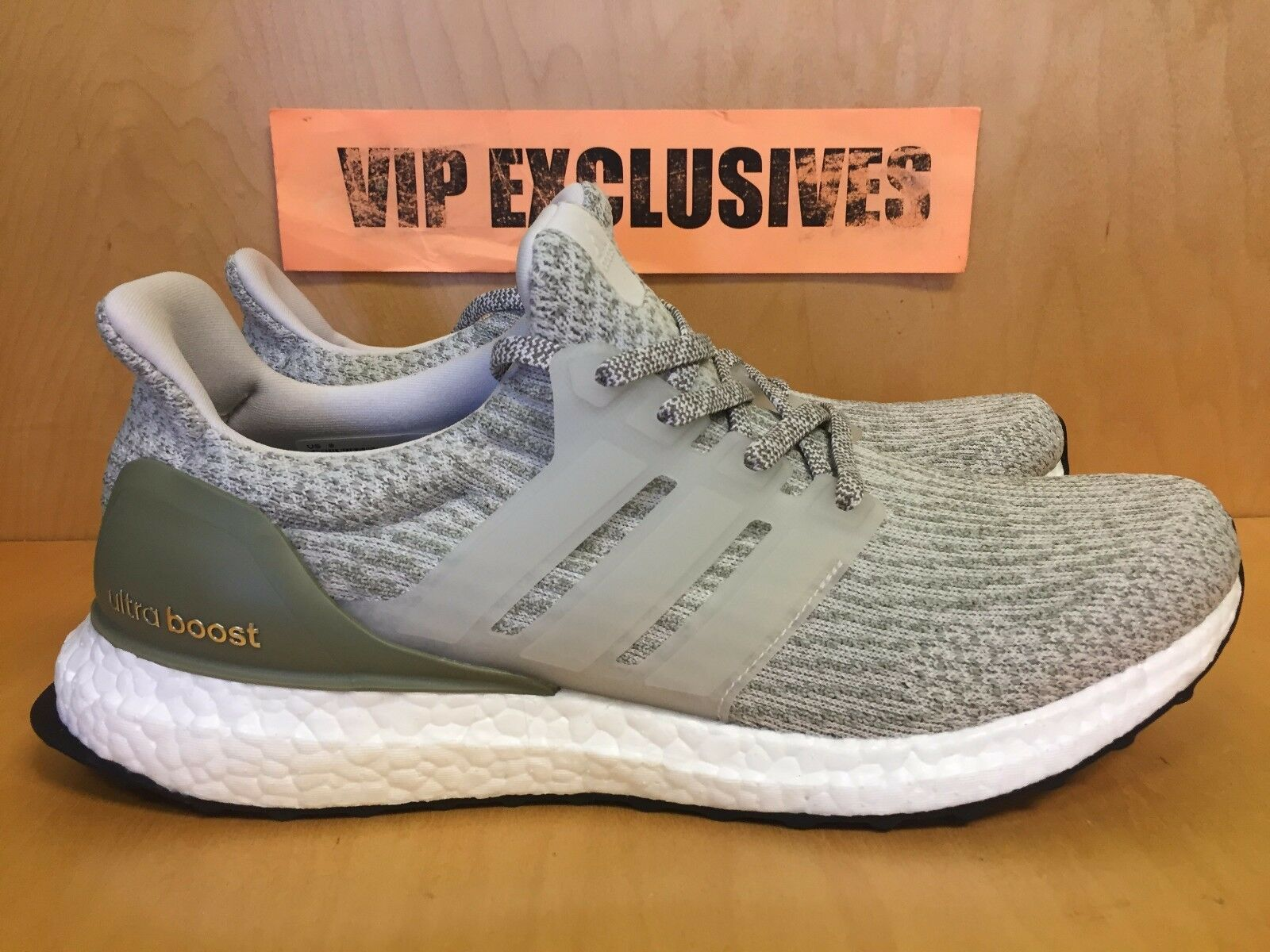 Adidas Ultra Boost 3.0 Pearl Olive Trace Cargo Grey 2018 UltraBoost BA8847