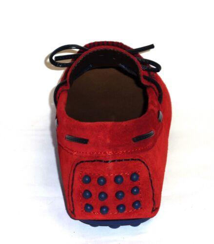 Moda Melluso Mocassini Pelle Scarpe 39 N Uomo U16007 Comoda Nabuk Walk Rosso dFIwF8