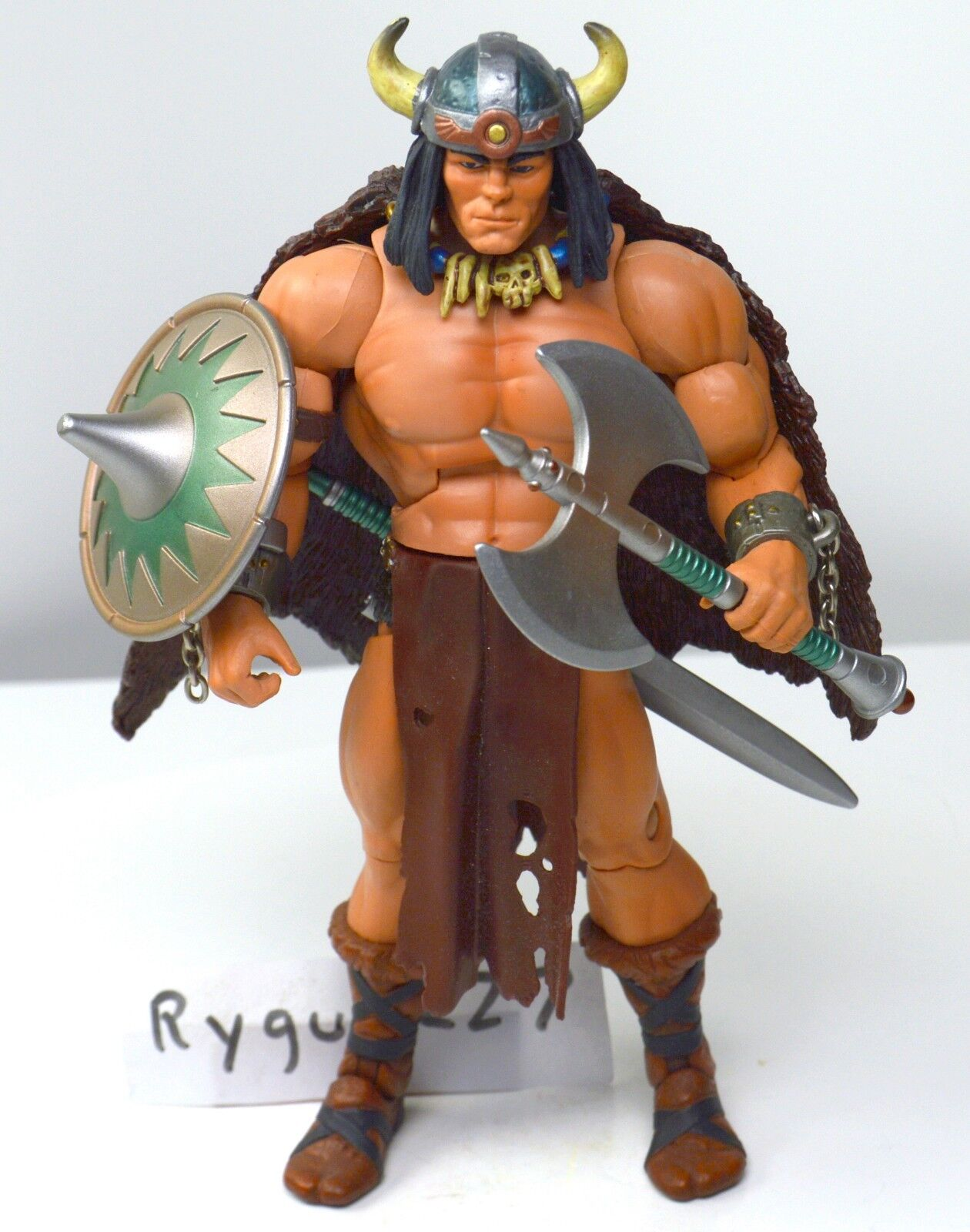 Motuc, Vikor, Completa, figura, amos del universo clásicos He-Man, Escudo
