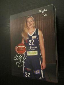 97691 Mayka Pilz BG 74 Damen Basketball original signierte Autogrammkarte