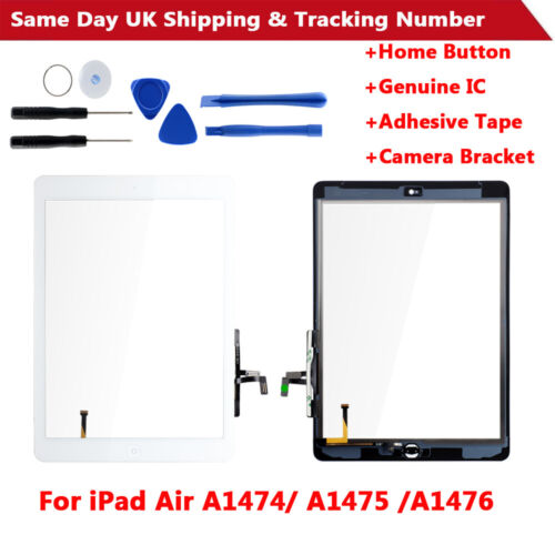 OEM Touch Screen Glass Digitizer Replacement For iPad 5 Air 1 A1474 A1475 A1476
