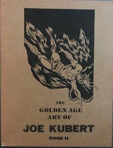 Golden-Age-Art-Joe-Kubert-2-The-Golem-Hawkman-Al-Dellinges-Sheridan-HTF-VF