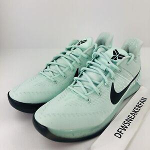d587cbe8543 Nike Kobe AD Men s Size 17 Igloo Mint Black Basketball Shoes 852425 ...