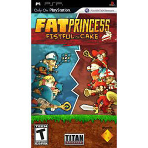 Fat-Princess-Fistful-of-Cake-Sony-PSP-Game