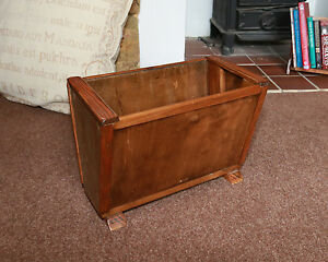 BOOK TROUGH MAGAZINE RACK ART DECO ANTIQUE OAK  BOOK CASE BOOK HOLDER - <span itemprop='availableAtOrFrom'>Canvey Island, Essex, United Kingdom</span> - BOOK TROUGH MAGAZINE RACK ART DECO ANTIQUE OAK  BOOK CASE BOOK HOLDER - Canvey Island, Essex, United Kingdom