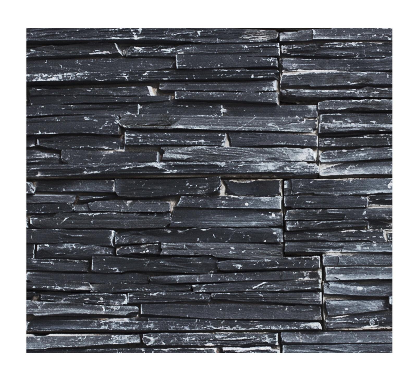 1 qm W-007 - Wand-Design Naturstein - Fliesen Lager Stein-mosaik Herne NRW -