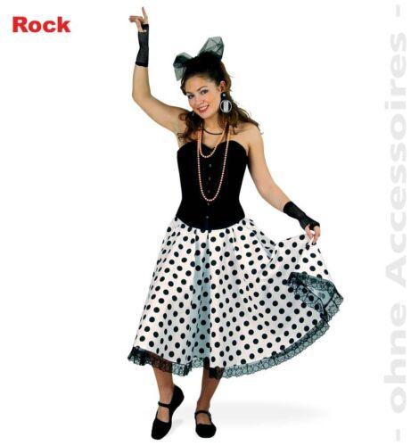 KarnevalsTeufel Rock Daisy Rockn Roll Polka Dots Karneval Fasching 1211518G13