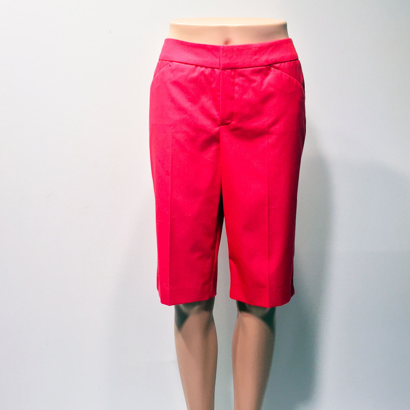 Peace of Cloth    164 The Heather Short in Red – Size 6 NWT