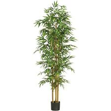 "Nearly Natural 5254 - 75"" Bamboo Silk Tree - Green"