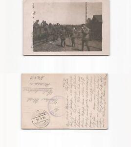 b92734-Foto-Ansichtskarte-Argonnerbahn-mit-deutschen-Soldaten-Stempel