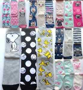 usine authentique 0e064 6c89c Détails sur Primark Femme Chaussettes chaussure Chemises Animal SNOOPY une  taille uk 4-8 EUR 37-42- afficher le titre d'origine