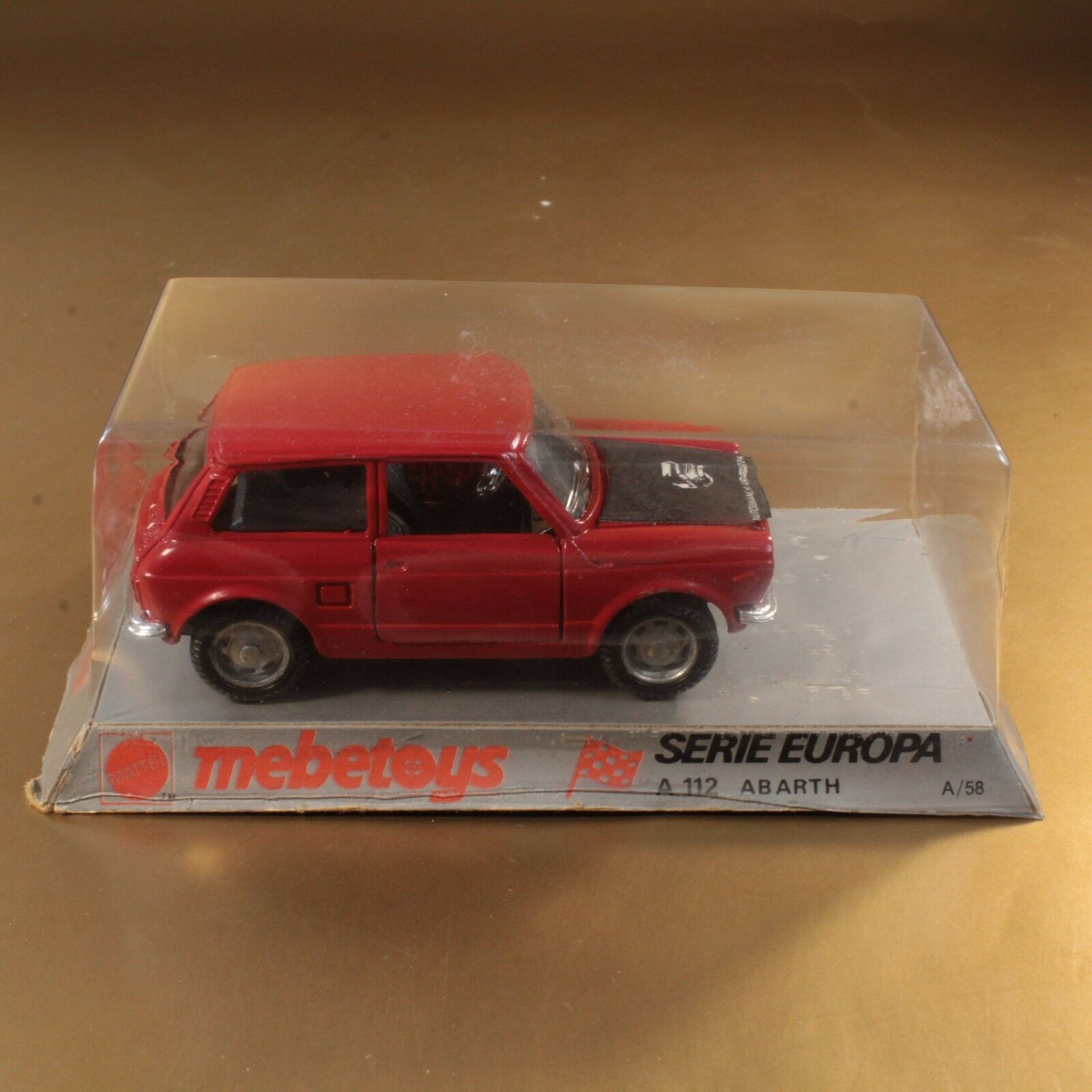 Mattel MEBETOYS a 58 a58 1 ° Series Europe a112 to 112 abarth NEW [oh3-16]