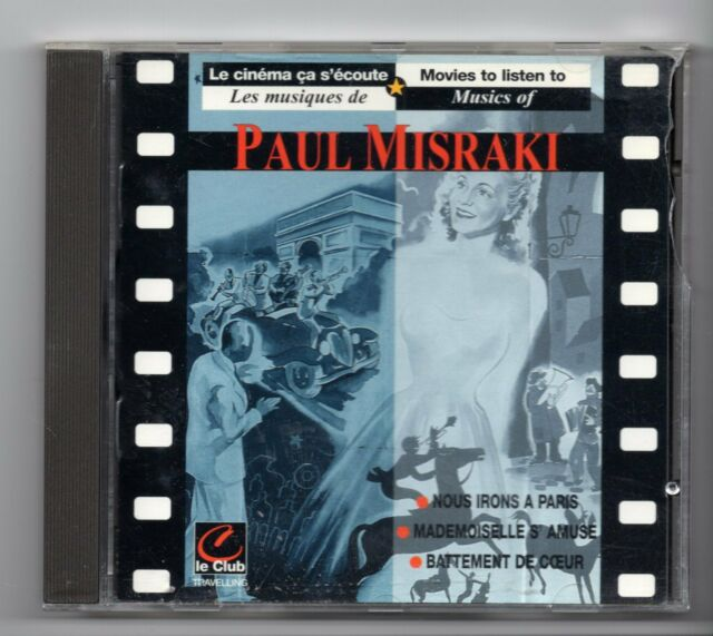 (JF75) Paul Misraki, Original Soundtracks - 1995 CD