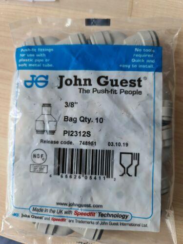 "John Guest PI2312S 3//8"" 10 Pack"