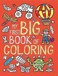 NEW-My-First-Big-Book-of-Coloring-by-Little-Bee-Books