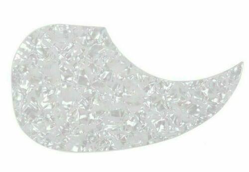 Acoustic Guitar Dreadnaught Martin Style Pickguard Self Adhesive White Pearl
