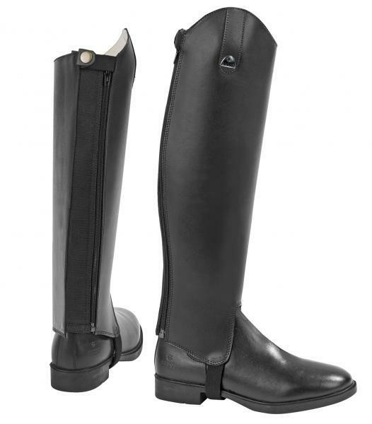 BUSSE Pelle Half Chaps SHAPE - Many sizes - Brand Nuovo!!