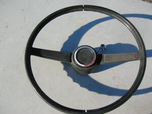 1970-1974-AMC-GREMLIN-HORNET-JAVELIN-NON-SPORT-STEERING-WHEEL-2-SPOKE