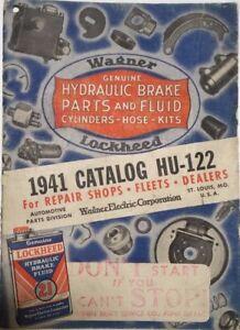 Details about WAGNER AUTOMOBILE CAR BRAKES PARTS ILLUSTRATED SALES CATALOG  1927-1941 VINTAGE