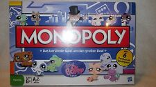 Littlest Pet Shop LPS Monopoly Board Game GERMAN Language European Pets SEALED!!