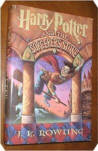 HARRY-POTTER-AND-THE-SORCERER-039-S-STONE-by-J-K-Rowling-1998-SCARCE-EARLY-BC-ED