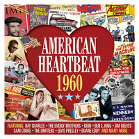 American Heartbeat 1960 Various Artists Music Best Of 50 Songs Sealed 2 Cd