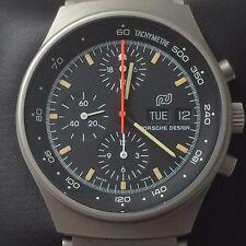 VINTAGE ORFINA Porsche Design Cronografo 7176 Con Lemania 5100