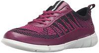 Ecco Women's Intrinsic 1 Knit Fashion Sneakers Low Cut Shoes Eur 40, Usa 9-9.5