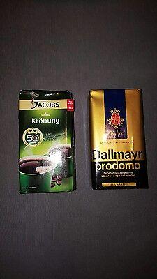 Verkaufe 25×500g Dallmayer und Jacobs Kaffee