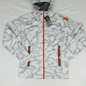 Under-Armour-Combine-Men-039-s-Training-Jacket-Arctic-Snow-Camo-1249063-100-Large