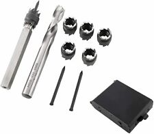Double Sided Rotary Spot Weld Cutter Remover Drill Bits Cut Weld Set 14 Drills