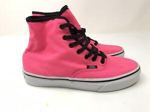 VANS High-tops Women's Neon Pink