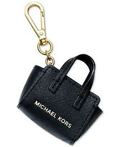 d496c3245fb3 Image is loading Michael-Kors-Selma-Key-Fob-Bag-Charm-Purse-