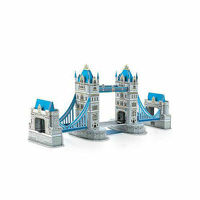 Tower Bridge 3D Cardboard Puzzle Jigsaw Model 41 Pieces NEW Kids Toys From NSW