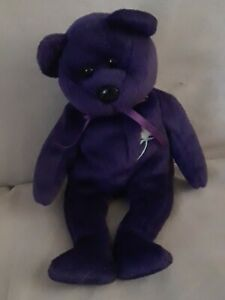 1997 Princess Diana Beanie Baby P E Pellets No Swing Tag Ebay