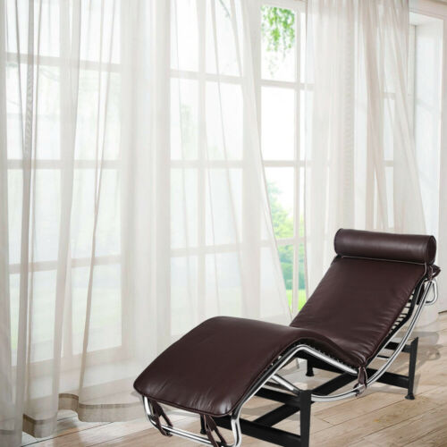 LC4 Modern Lounge Chair Chaise Lounge Recliner Genuine Leather POLTRONA Chair UK