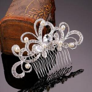 Bridal-Hair-Comb-Hair-Jewelry-Crystal-Rhinestone-Hair-Clips-Pins-Combs-Wedding