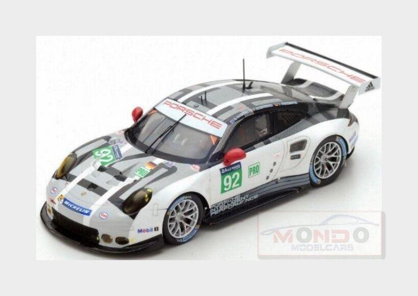 l'intera rete più bassa Porsche Porsche Porsche 911 991 autorera Rsr Motorsport Lmgte Pro Le uomos 2016 SPARK 1 43 S5135  solo per te