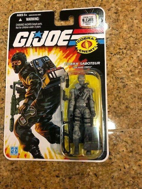G.I. Joe Cobra Saboteur (Firefly) 25th Anniversary - Cartoon Series Card