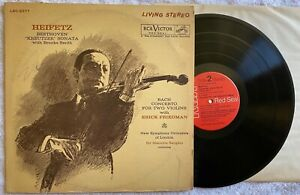 Heifetz-Erich-Friedman-record-LP-album-signed-by-Friedman-autographed-classical