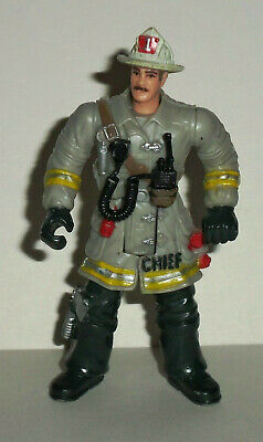CHAP MEI FIRE FIGHTER AND POLICE FIGURES LOOSE WITH ACCESSORIES