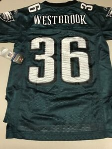 e599c226 Details about BRIAN WESTBROOK #36 PHILADELPHIA EAGLES RETRO YOUTH GREEN  JERSEY FREE SHIPPING