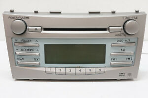 Image Is Loading Read 07 09 Toyota Camry Factory Cd Player